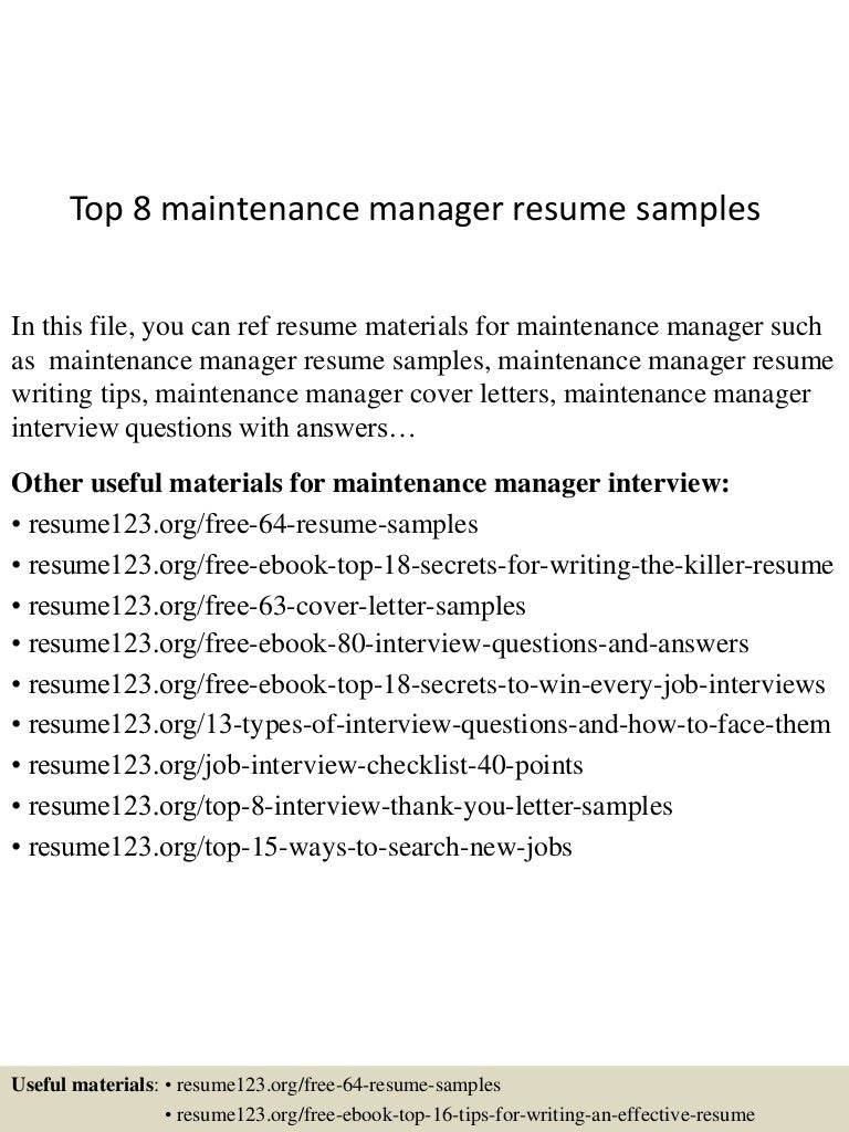 example of report maintained by management
