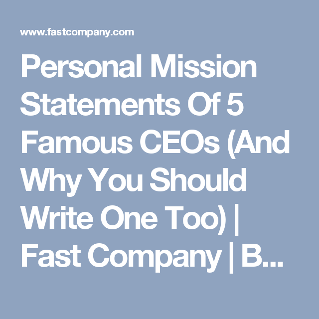 example of vision mission and objective of company