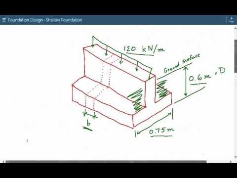 shear wall foundation design example