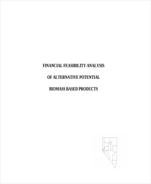 feasibility study example product pdf