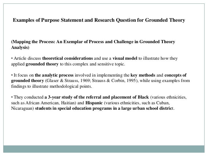 statement of research question example