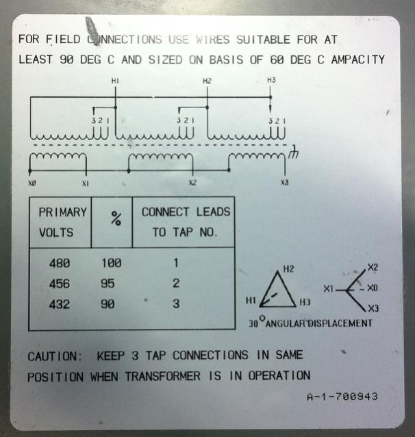 three phase transformer example problems