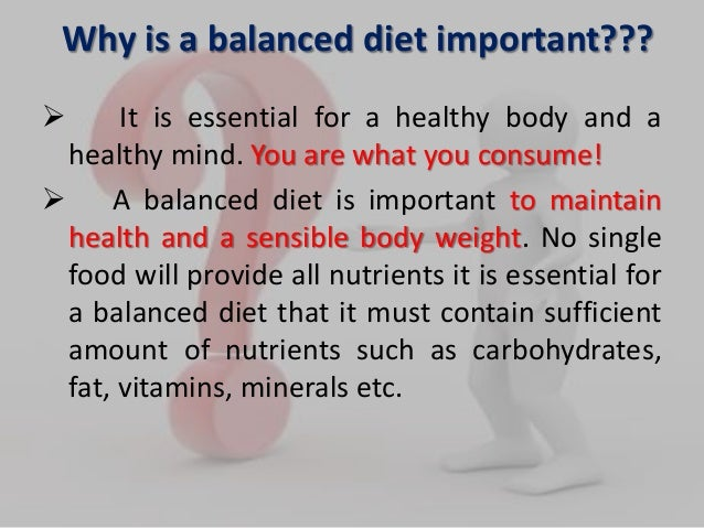 what is a balanced meal example